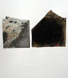 scott bergey - mixed media + paper - houses