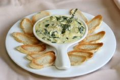 Even if you typically hate spinach, you'll love this creamy spinach dip. The Greek yogurt's rich flavor balances out the bitterness of the spinach. Plus, you'll be enjoying plenty of potassium, folate, fiber and vitamins.