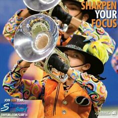 Jersey Surf Drum and Bugle Corps 2013 Mellophone, Drum Corps International, Join Our Team, New Jersey, Drums, Surfing, Goals, Music, Art