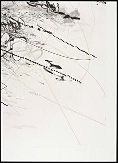 Julie Mehretu, materials: aquatint, spit-bite etching on paper