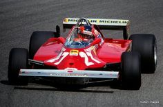Gilles Villeneuve forever remembered for his heroics in Ferrari number 27