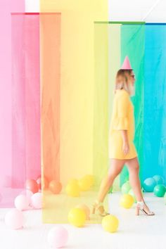 Colorblock Film Photobooth | Oh Happy Day! | Bloglovin'