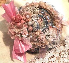 ELITE4U Beautiful Victorian Vintage Handmade Mini Mix Album Khatuna Buzzell | eBay