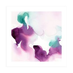 """""""Watercolor Abstract Flora Series : Solice"""" - Art Print by V E R Y M A R T A in beautiful frame options and a variety of sizes."""