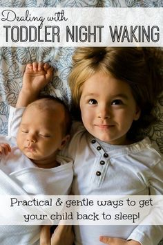 GREAT tips to sort through toddler night waking using practical parenting!