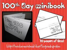 100th Day Minibook
