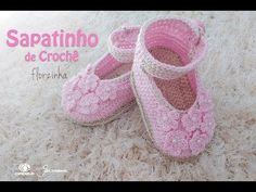 Olá pessoal, vamos fazer um lindo sapatinho de crochê ? Sapatinho de Crochê par bebê - Florzinha ▶ Compras OnLine → www.megaarmarinho.com.br ▶ INSCREVA-SE no...