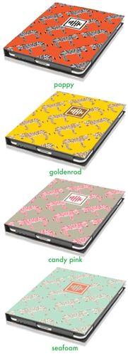 Charlotte: Nico and Lala Zebra iPad Cover