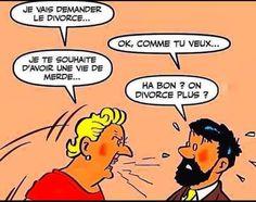 Le Divorce, Comics, Break A Leg, I Want You, Cartoons, Comic, Comics And Cartoons, Comic Books