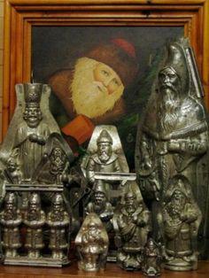 §§§ . Old Santa Molds