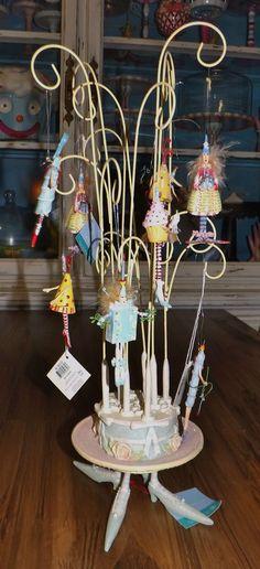 "Birthday Mini Ornament Tree - 56.36518 - 16""x6"" - in personal collection"