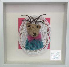 Ciervo, patrón de Tendre Crochet