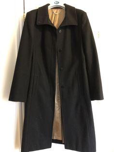 c6ed74e7c17 Beautiful Quality Winter Coat Next Black Wool Smart Formal Work Size 14   fashion  clothing