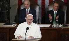 Pope Francis lectures Congress on immigration, abortion and gay marriage   Daily Mail Online