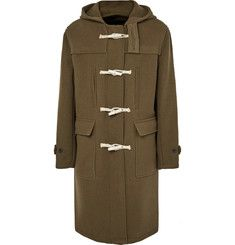 Our Legacy - Extended Wool-Blend Hooded Duffle Coat