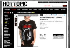 Hot Topic's website. Gotta go back to my roots for style. Fun style layout.
