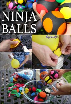 Feeling Stressed or Want to Take up Juggling? Here's How to Make Your own Ninja Balls!