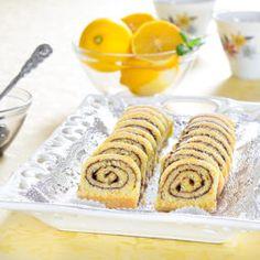 Jednoduchá citrónová roláda