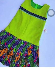 Kids fashion For 10 Year Olds Indian - Kids fashion Editorial Fun - Kids fashion Casual Summer - Kids fashion Country - Kids fashion Wedding Ankara Styles For Kids, African Dresses For Kids, Dresses Kids Girl, Kids Outfits, Girls, African Fashion Ankara, Latest African Fashion Dresses, African Print Fashion, Kids Dress Wear