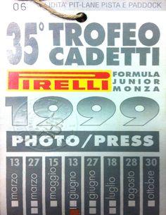 Trofeo Cadetti 99