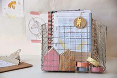 Cómo hacer un cesto de alambre para organizar mejor el escritorio