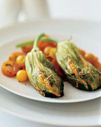 Stuffed Zucchini Blossoms Recipe on Food & Wine - WWPP - 7