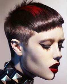 El arte en tu cabello, si tienes el pelo corto
