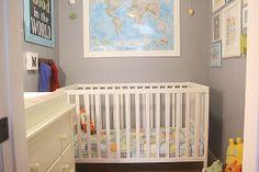 Supermom vs Me: Master Closet Turned Baby Boy Nursery