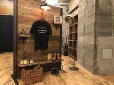 Music Corner, Fashion Room, Terrazzo, Wood Paneling, Wood Wall, Industrial Design, Plank, Divider, Montana