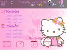 Free themes: Skulls and Hello Kitty for the BlackBerry Curve 8900