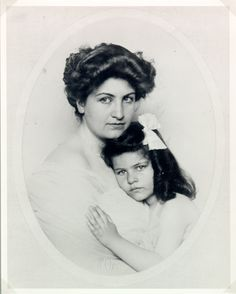 Alma Mahler avec Anna Mahler