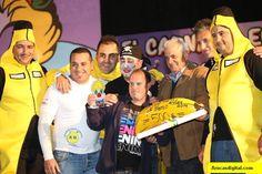 Grupo Mascarada Carnaval: Los Chacho Tú, Primer premio de Interpretación