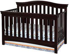"""Delta Bennington Bell 4-in-1 Lifetime Crib - Dark Chocolate - Delta - Babies """"R"""" Us"""