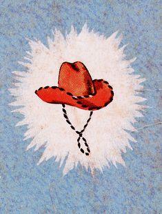 Un jour, un chapeau de cowboy - carr st - Art Du Collage, Photo Wall Collage, Art Hippie, Wall Prints, Poster Prints, Chapeau Cowboy, Cowboy Hats, Bedroom Wall Collage, Cute Wallpapers