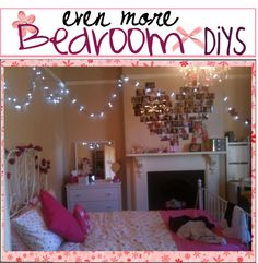 """even more Bedroom Diys(: "" by the-tip-of-the-week ❤ liked on Polyvore"