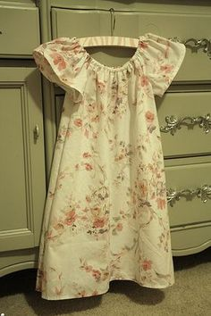 pillowcase nightgown LOVE making these!