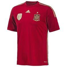 Adidas Spain Home Authentic Jersey World Cup 2014 (M) adidas $69.90 http://www.amazon.com/dp/B00GGOBFO4/ref=cm_sw_r_pi_dp_QlMNtb0KKBBFWSTT bookmark us at www.webshoppingmasters.com/salter3811