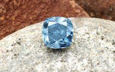 The Star of Josephine, a 7 carat, internally flawless, fancy vivid blue diamond recovered from Cullinan - Petra Diamonds