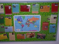 Missionary Prayer Map