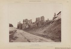 1889-Olite, Navarra Ruinas del Castillo-Palacio- 1889