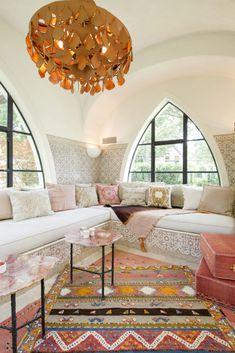 Modern Living Room Design Ideas Full of Luxurious Details for 2020 Morrocan Decor, Moroccan Lanterns, Moroccan Bedroom Decor, Moroccan Living Room Furniture, Modern Moroccan Decor, Moroccan Lounge, Moroccan Theme, Moroccan Interiors, Moroccan Design