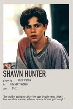 Girl Meets World, Boy Meets World Shawn, Boy Meets World Quotes, Movies And Series, Movies And Tv Shows, Beautiful Boys, Pretty Boys, Incorrigible Cory, Rider Strong