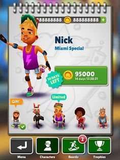 Hack for Subway Surfers iOS app