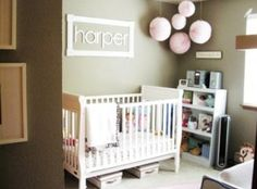 Name in frame on wall..love for nursery