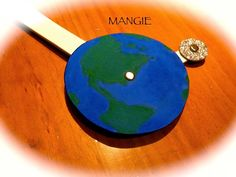 Detalle de la Tierra y la Luna