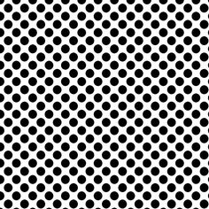 **FREE ViNTaGE DiGiTaL STaMPS**: Free Digital Scrapbook Paper - White w/ Black Polka Dots