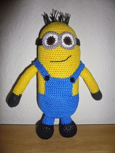 Fru K's syslerier Amigurumi Toys, Tweety, Minions, Baby, Fictional Characters, Babys, Baby Humor, Minion, Baby Baby