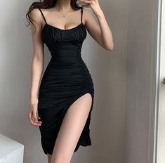 Kpop Fashion Outfits, Hot Outfits, Cute Casual Outfits, Girl Outfits, Sexy Dresses, Cute Dresses, Beautiful Dresses, Korean Girl Fashion, Cute Fashion