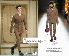 Just Plain Perfect: Park Bo Gum at tvN 'Boyfriend /Encounter' Bo Gum, Conference, How To Make, How To Wear, 21st, Boyfriend, Park, Jackets, Fashion