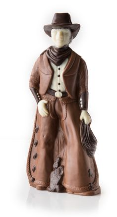 Chocolate Secrets Chocolate Cowboy. This is Texas, chocolate and awesome. #ChocolateSecrets #Texas